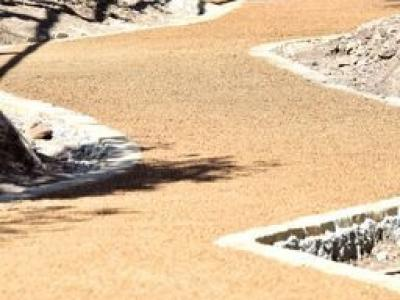 POROUS PAVE-treated draining ecofriendly paving